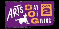 Arts Day of Giving is October 2!