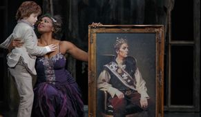 RODELINDA: the queen mourns for her king