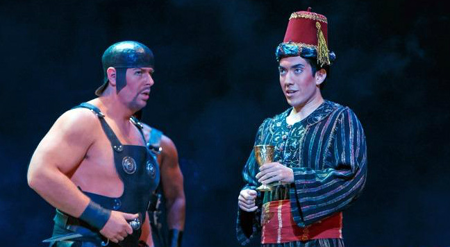 Andy Berry performs as a Cappadocian in Salome