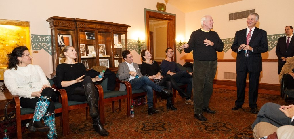 Pittsburgh Opera's Meet the Artists reception for Cosi fan tutte, October 2015