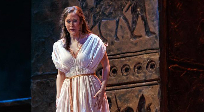 Shannon Jennings performs the role of a Slave in Salome
