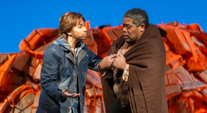 Antonia Botti-Lodovico as Idamante with Terrence Chin-Loy as Idomeneo