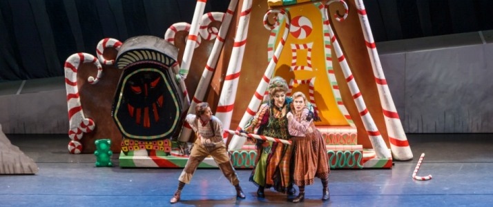 The student matinee performance of Hansel & Gretel, November 2018