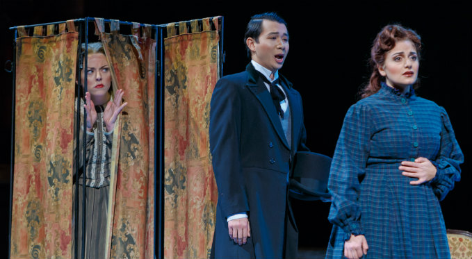 Brian Vu performs the role of John Brooke in Little Women