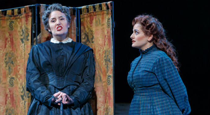 Leah de Gruyl makes her Pittsburgh Opera debut singing the role of Aunt Cecilia March in Little Women