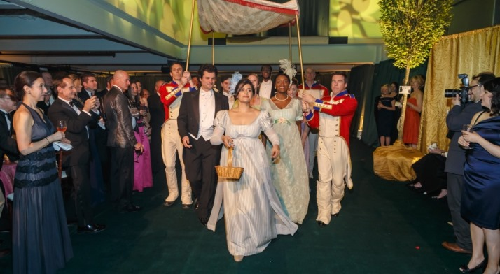 Pittsburgh Opera Resident Artists make their grand entrance