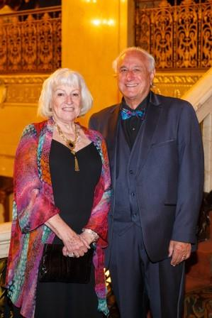 Sharon and Bob Sclabassi at Maecenas gala
