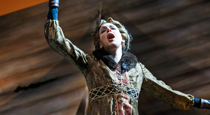 "Claudia Rosenthal performs the role of Pulcheria in Richard the Lionheart to critical acclaim: ""What a treat it was to hear such sustained soprano singing; pure, clear, unmarred…"" - George B. Parous, Pittsburgh in the Round"