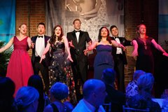 Resident Artists sing at Maecenas 2016