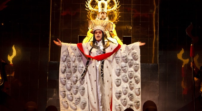 Photo from the opera Turandot