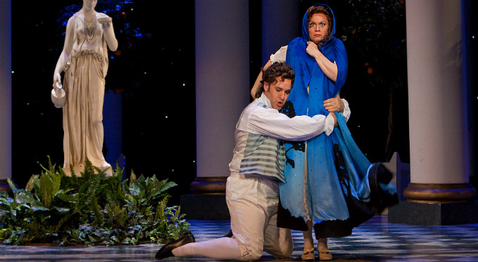 Figaro can't seem to let go of Susanna in The Marriage of Figaro!
