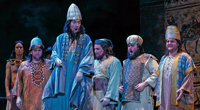 Andy Berry performs as the Fifth Jew in Salome