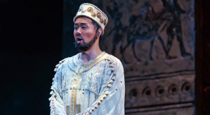 Brian Vu performs the role of the Second Nazarene in Salome