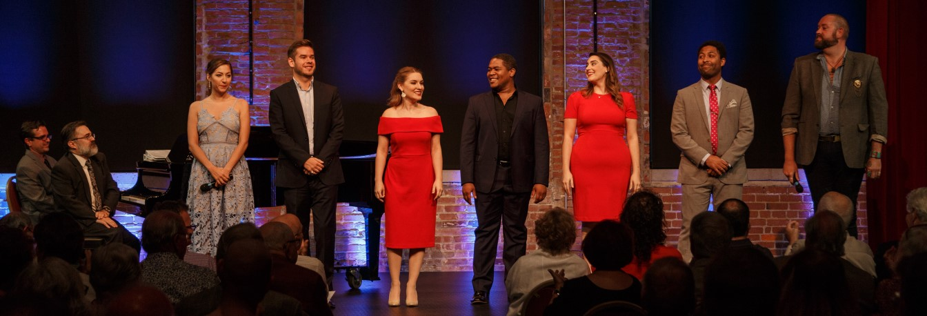 Resident Artists at the 2018 Pittsburgh Opera Rising Stars concert. Photo: David Bachman.