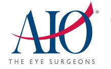 AIO, Associates in Ophthalmology logo