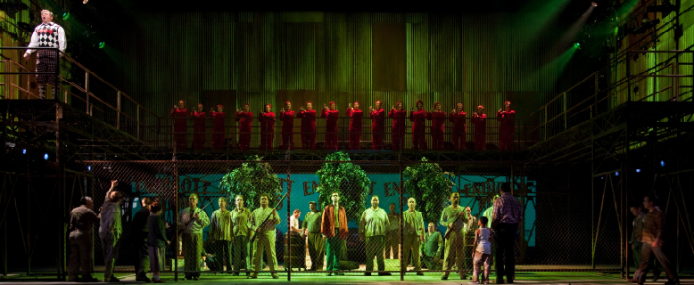The Pittsburgh Opera Chorus in The Grapes of Wrath