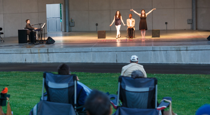 Pittsburgh Opera's singers in a free concert in the Allegheny County Summer Concert Series.