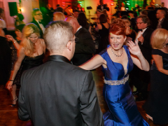 Dancing at the Diamond Horseshoe Ball 2015