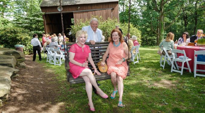 FPO members enjoy the 2015 Garden Party
