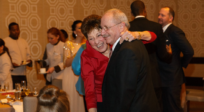 FPO members dancing at a recent Valentine's Day soiree