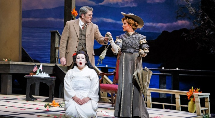 Antonia Botti-Lodovico performs in the role of Kate Pinkerton in Madama Butterfly
