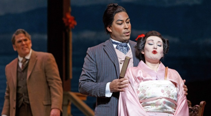 Ben Taylor performs as Prince Yamadori in Madama Butterfly