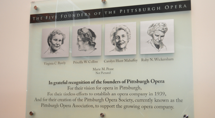 Our Five Founders are honored with a memorial plaque in our most-used public space.