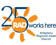 RADical Days 25th anniversary logo