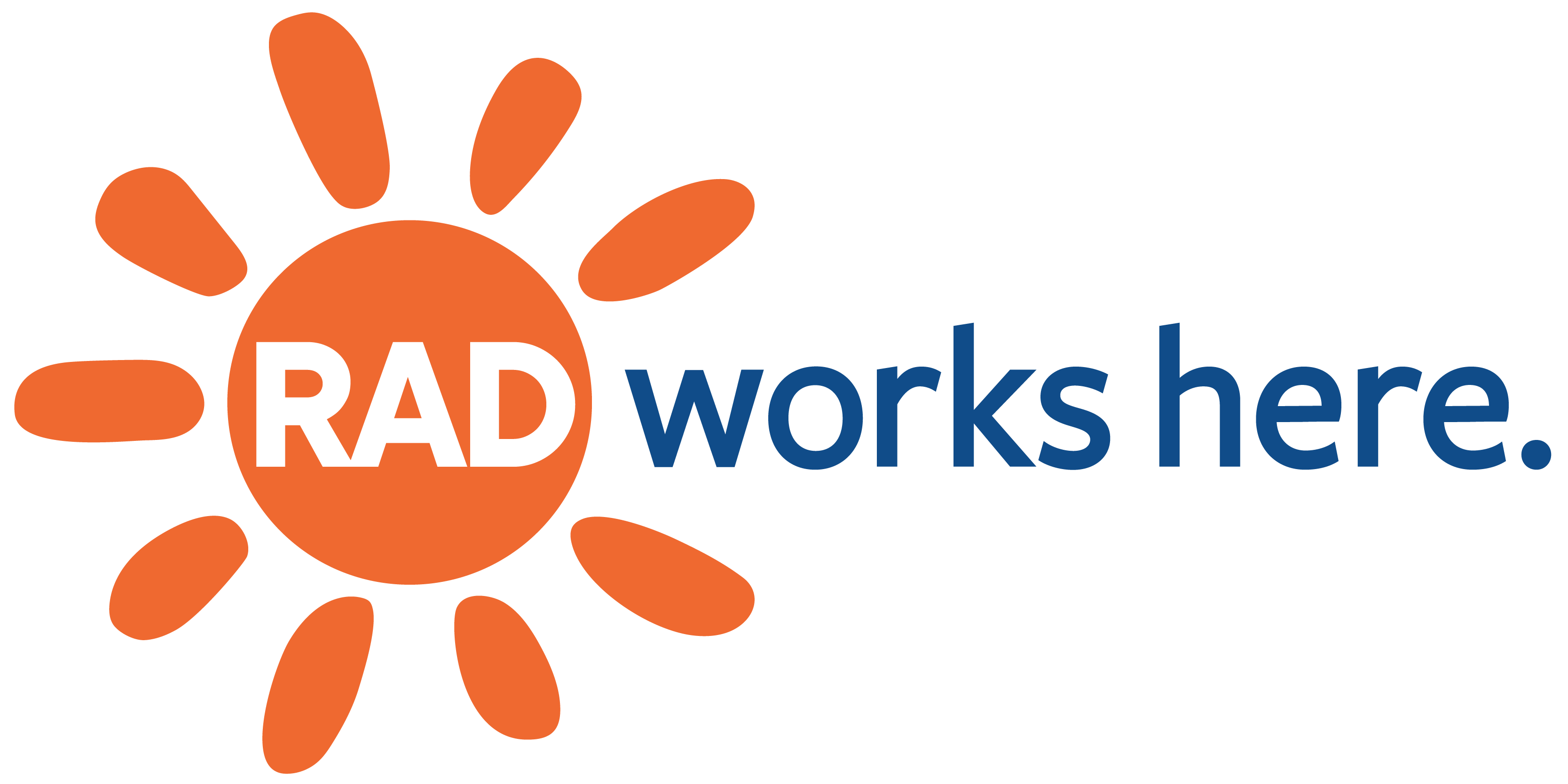 RAD works here logo