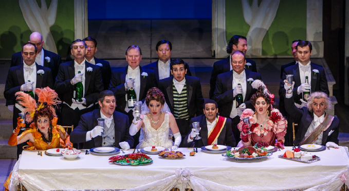 The student matinee performance of Rossini's La cenerentola, 2013