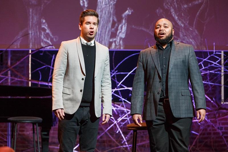 Yazid Gray at the 2019 Art Song Recital