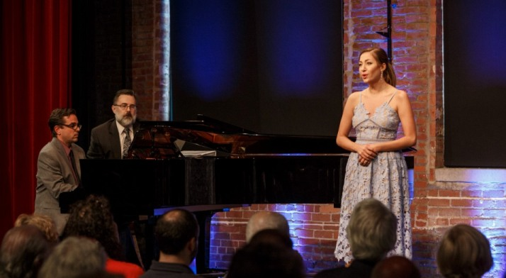 Antonia Botti-Lodovico sings at 2018 Rising Stars concert