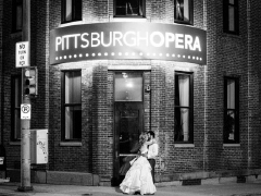 A wedding at Pittsburgh Opera Headquarters