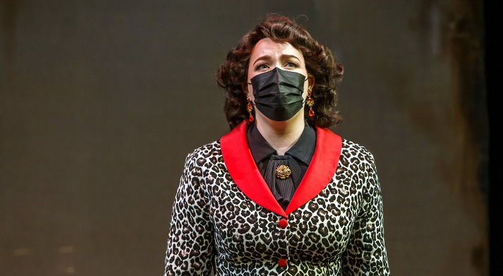 Maire Therese Carmack as Baroness Nica in Charlie Parker's Yardbird
