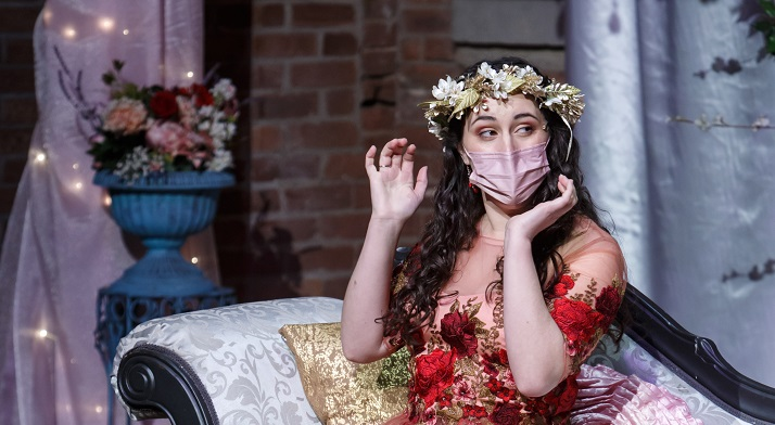 Veronique Filloux in our Valentine's Day
