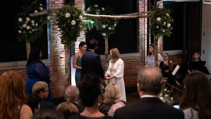 Photo: Sarah and Shaun's wedding via Schiemer Entertainment