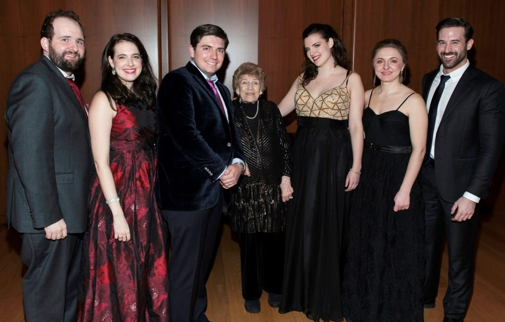 George London Foundation Award winner Claudia Rosenthal and others
