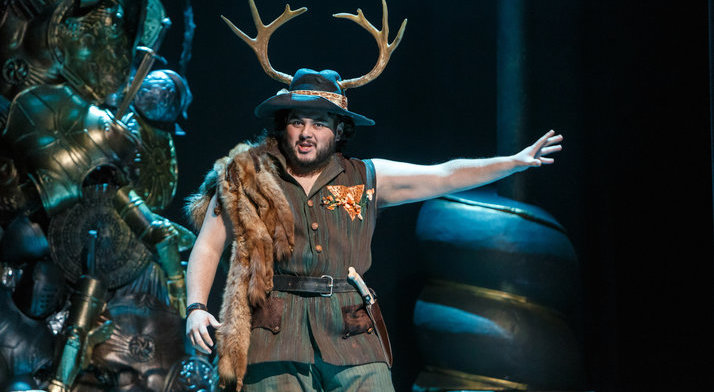 Angel Romero as Oronte in Handel's Alcina. Pittsburgh Post-Gazette's review said he sang with