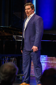Eric Ferring performing at Pittsburgh Opera's Art Song Recital, November 2017.