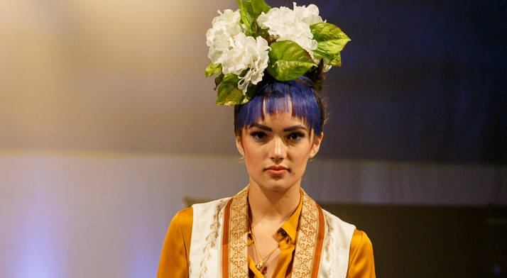 Fashions by Larrimor's and Hair & Makup by Studio Booth graced the runway.