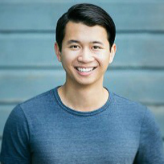 Resident Artist Brian Vu sings the role of Calvin Griffith