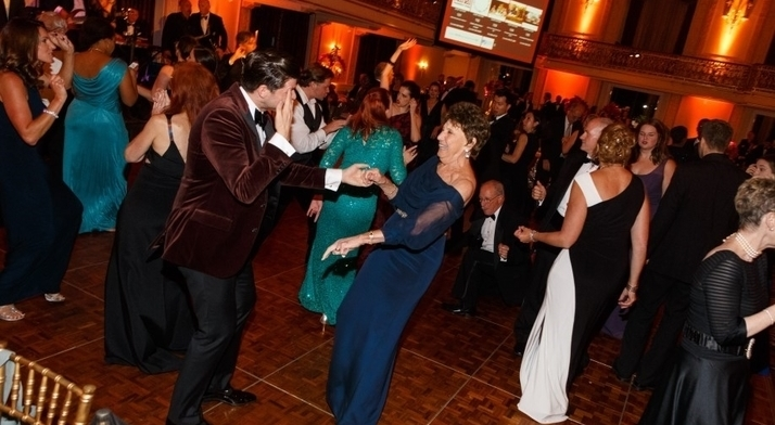 Dancing at the Diamond Horseshoe Ball 2016
