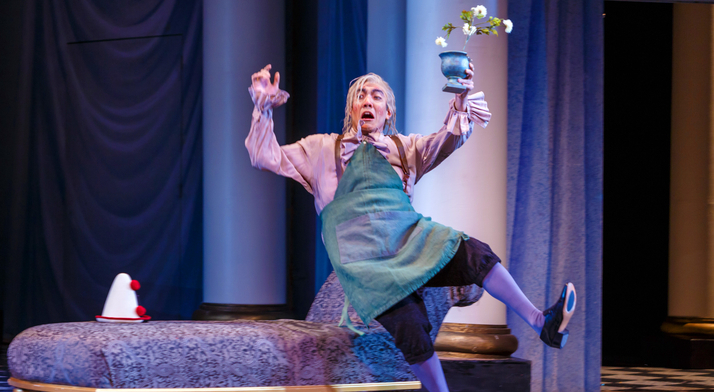 Andy Berry performs the role of gardener, Antonio in The Marriage of Figaro. Pittsburgh in the Round raved about his