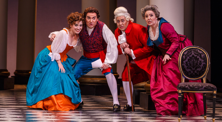Leah de Gruyl performs as Figaro's long-lost mother Marcellina. Pittsburgh in the Round said she