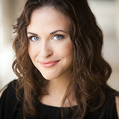 Resident Artist Shannon Jennings performs the role of Giannetta