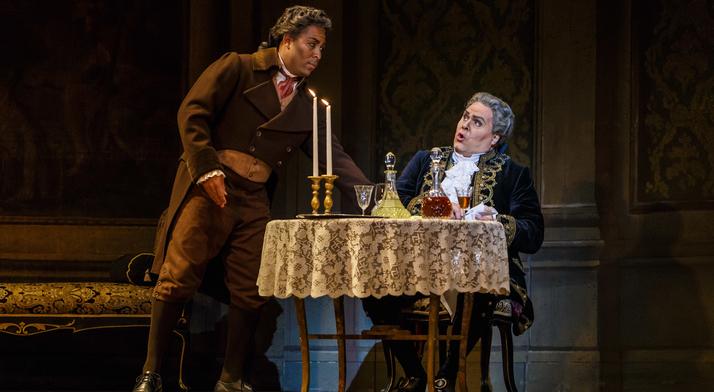 Ben Taylor performs as Sciarrone in Tosca