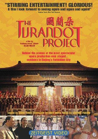 Movie poster for The Turandot Project
